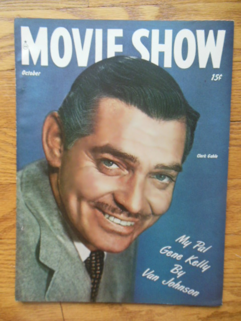 Image for Movie Show Magazine October, 1947 (Clark Gable)