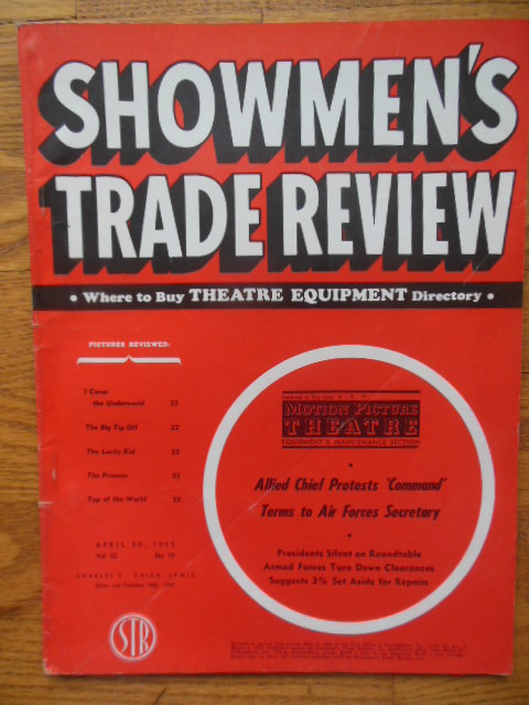 Image for Showmen's Trade Review April   30, 1955 (Daddy Long Legs)
