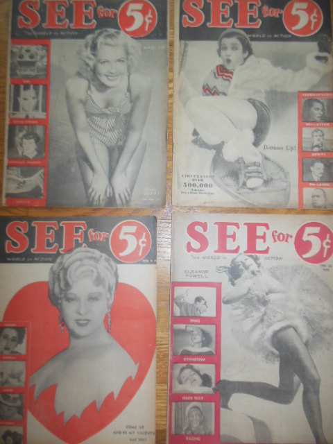 Image for See Magazine World In Action (four issues 1938)
