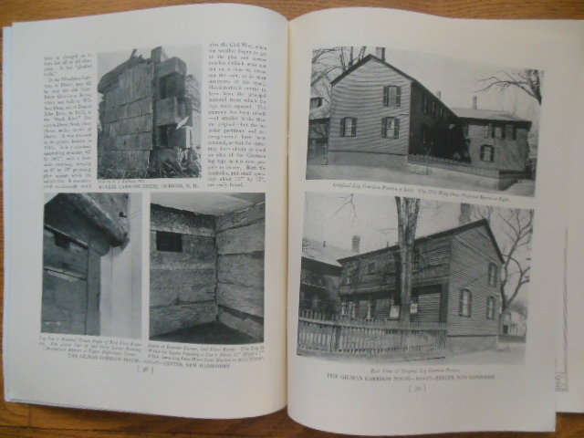 Image for The Monograph Series; Garrison Houses Along the New England Frontier