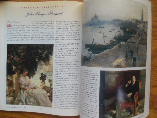 Image for American Art Review August, 1999 (Taos Artists' Colony, Mary Cassatt Impressionism Cape Cod; John Singer Sargent)