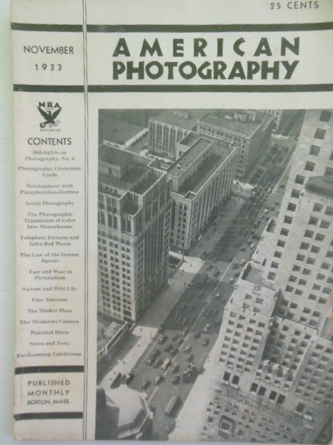 Image for American Photography, November 1932