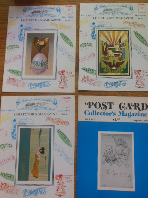 Image for Post Card Collectors Magazine(4 Sequential Issues)