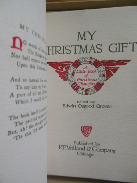 Image for My Christmas Gift; A Little Book of Christmas  (Book in a Box 1912)