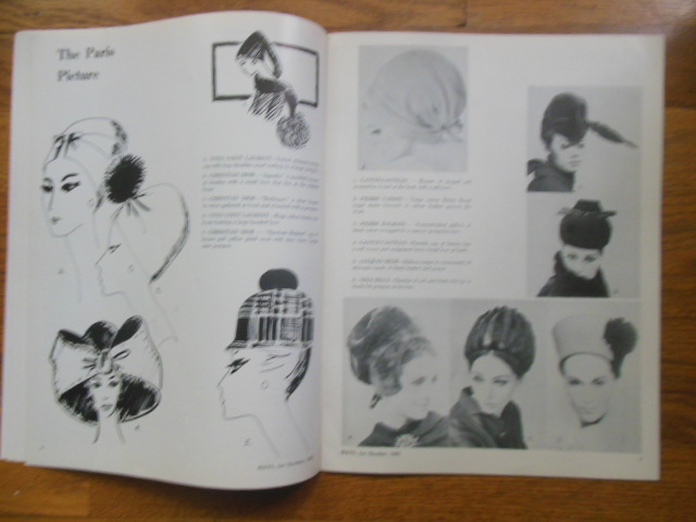 Image for Hats Magazine (Only Milinery Magazine in U.S. October, 1962)
