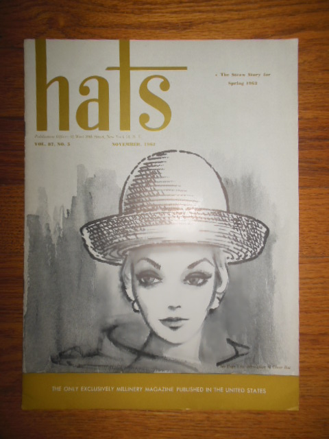 Image for Hats Magazine November, 1962