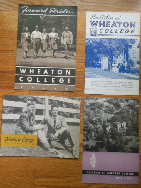 Image for Bulletin of Wheaton College (4 Issues 1941, '43, '45, '47)