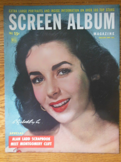 Image for Screen Album Magazine Fall, 1949 (Elizabeth Taylor, Alan Ladd, Montgomery Clift)
