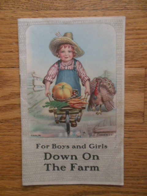Image for E.H. Wright Advertising For Boys and Girls Down on the Farm