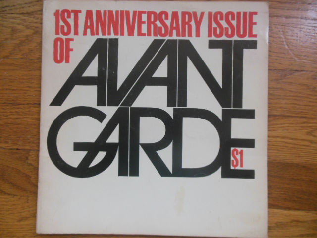 Image for 1st Anniversary Issue of Avant Garde Janaury, 1969