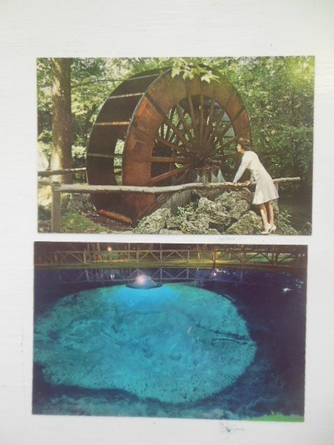 Image for Postcards Blue Hole, Castalia, Ohio (4 views)