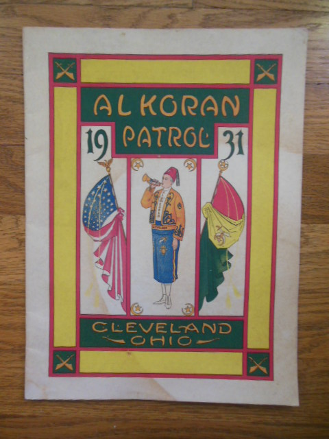 Image for Al Koran Patrol Cleveland, Ohio 1931 (Shriners)