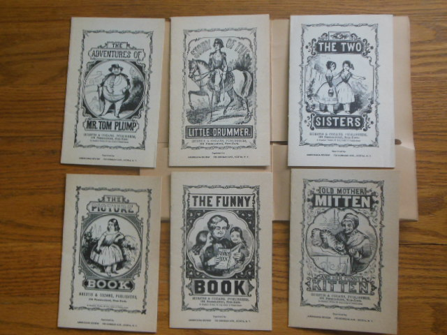 Image for Six Children's Books of the 1850's (Facsimile Reprints)