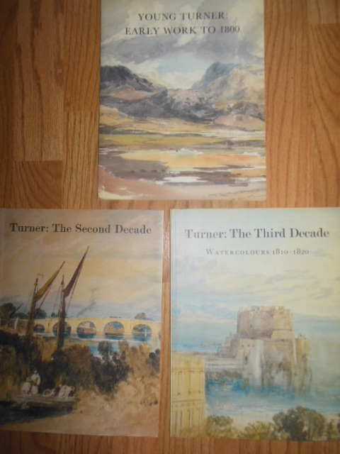 Image for Young Turner; Turner -- The Second Decade; Turner -- The Third Decade (3 booklets 1989)