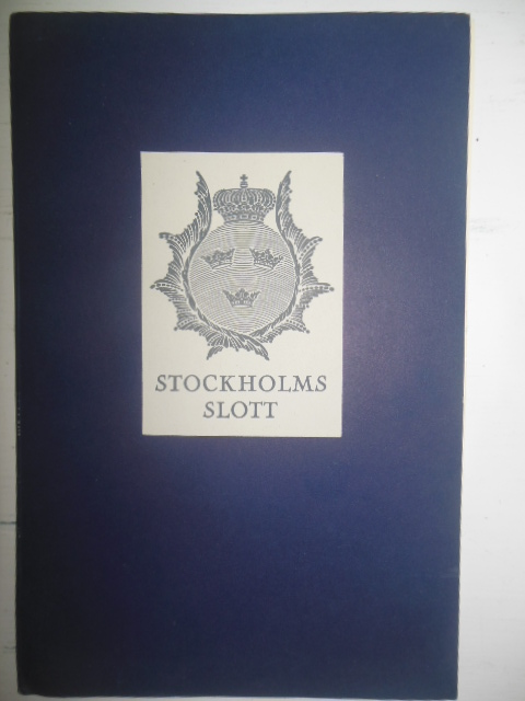 Image for Stockholm's Slott --English & Swedish Language, 1958.