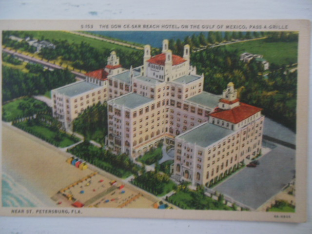 Image for Postcard The Don Ce-Sar Beach Hotel Pass-A-Grille, Florida