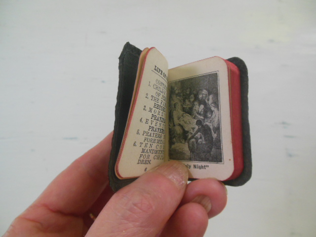 "Image for The Child's Bible and Prayer Book 1932 (Miniature 2""x 1-1/2"")"