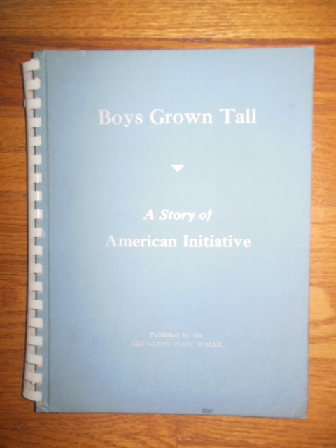 Image for Boys Grown Tall; A Story of American Initiative (50 Cleveland Leaders, 1944)