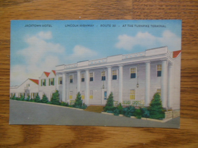 Image for Postcard Jackson Hotel Route 30 At the Turnpike Terminal