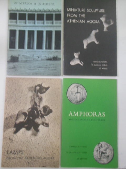 Image for Four Booklets; The American School of Classical Studies at Athens (1959-1963)