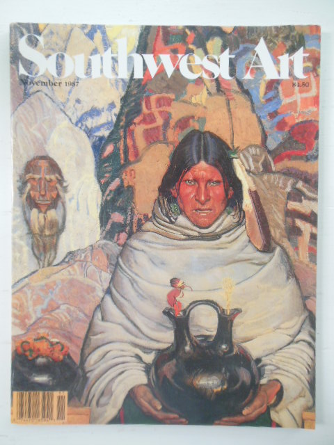 Image for Southwest Art Magazine November, 1987
