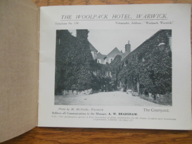 Image for The Woolpack Hotel, Warwick, England (early 1900's)