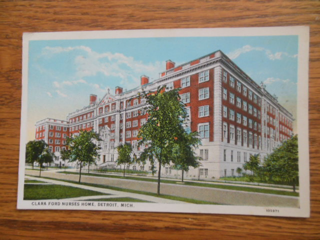 Image for Clara Ford Nurses Home Detroit, Michigan (1926)