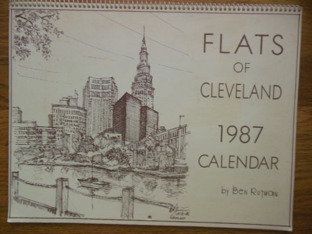 Image for Flats of Cleveland 1987 Calendar (unused)