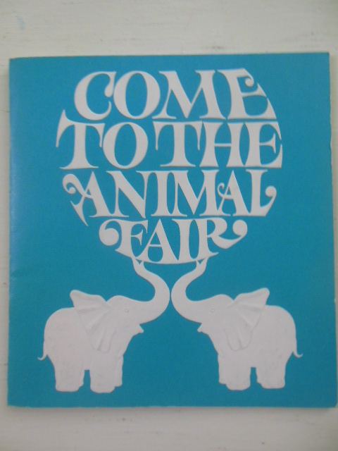 Image for Stueben Glass Catalog Come To the Animal Fair (Spring, 1971)