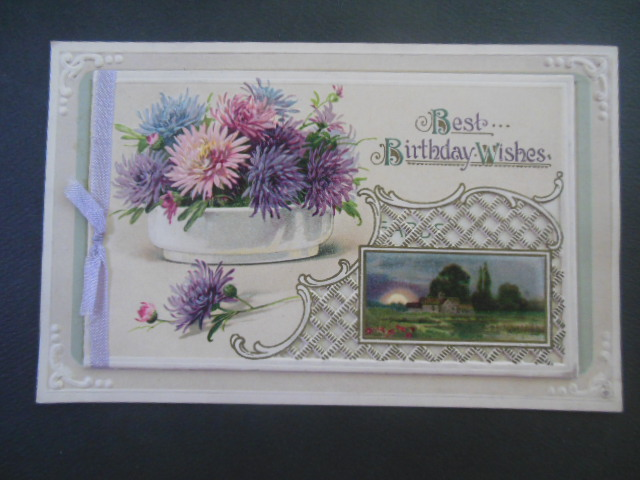 Image for Postcard That Opens Best Birthday Wishes