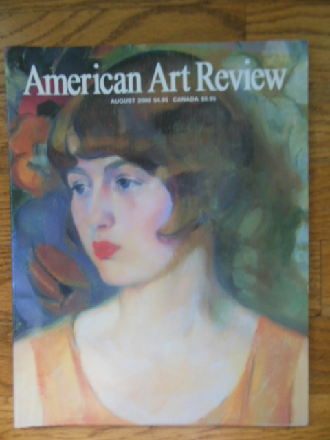 Image for American Art Review, August 2000 (Rockwell Kent, California Impressionists, Robert Gwathmey and Andy Warhol)