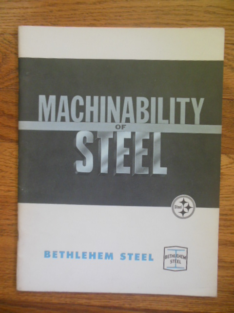 Image for Bethlehem Steel: Machinability of Steel