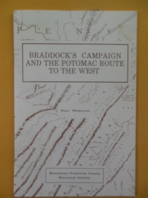 Image for Braddock's Campaign and the Potomac Route to the West, 1997 (extra ephemera laid-in)