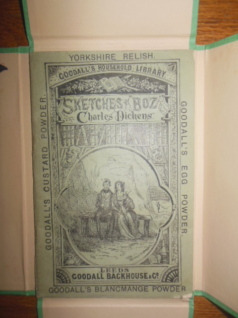 Image for Sketches by Boz, Charles Dickens; Goodall's Household Library 1885 (In Custom Made Box)