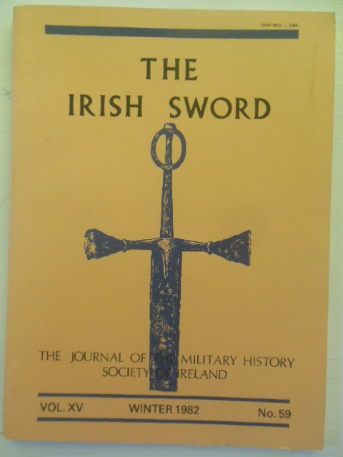 Image for The Irish Sword; Journal of the Military History Society of Ireland (Winter, 1982)