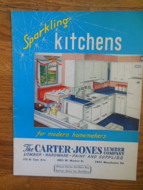 Image for Sparkling Kitchens For Modern Homemakers 1951 (Carter-Jones Lumber Akron, Ohio)