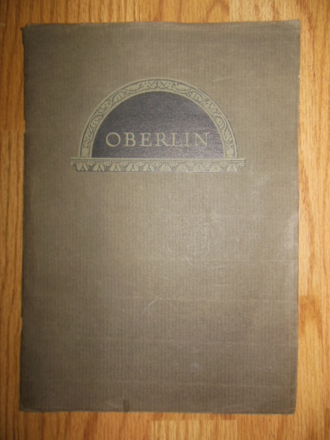 Image for Oberlin College 1833-1933