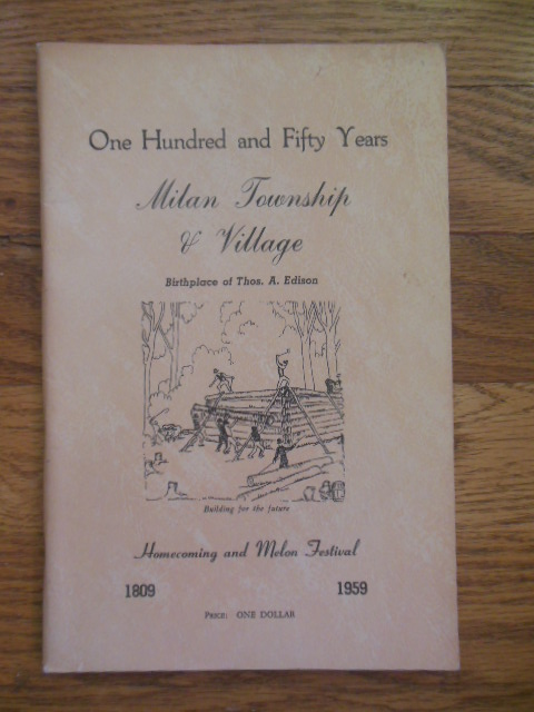 Image for One Hundred and Fifty Years Milan Township and Village (Ohio, 1959)