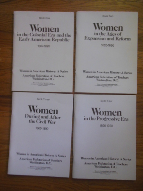 Image for Women In American History; A Series (Four Volume Set 1979)