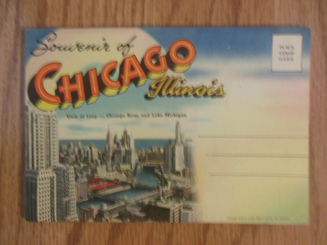 Image for Souvenir of Chicago, Illinois Postcard Mailer