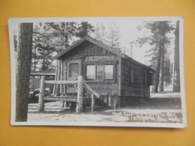Image for Real Photo Postcard Moon Camp Big Bear Lake, California