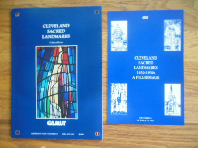 Image for Gamut Magazine Cleveland Sacred Landmarks (Special Issue 1990 with Advertising)