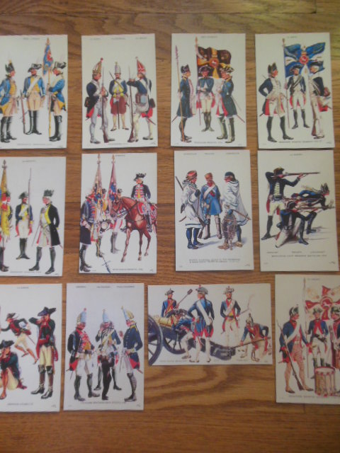 Image for Postcards Hessian Soldiers Quebec Campaign of 1777 ( 12 Views)
