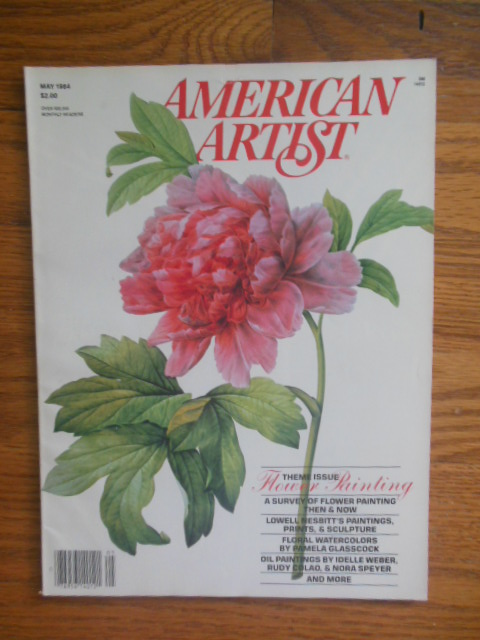 Image for American Artist Magazine May, 1984 (Theme Issue: Flower Painting)