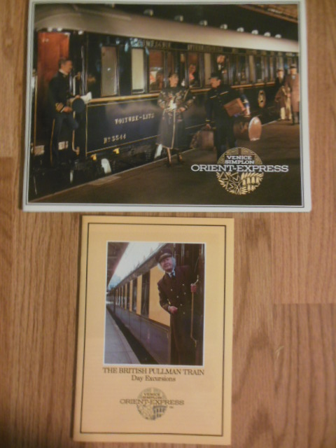 Venice Simplon Orient-Express and The British Pullman Train Day Excursions (1984)