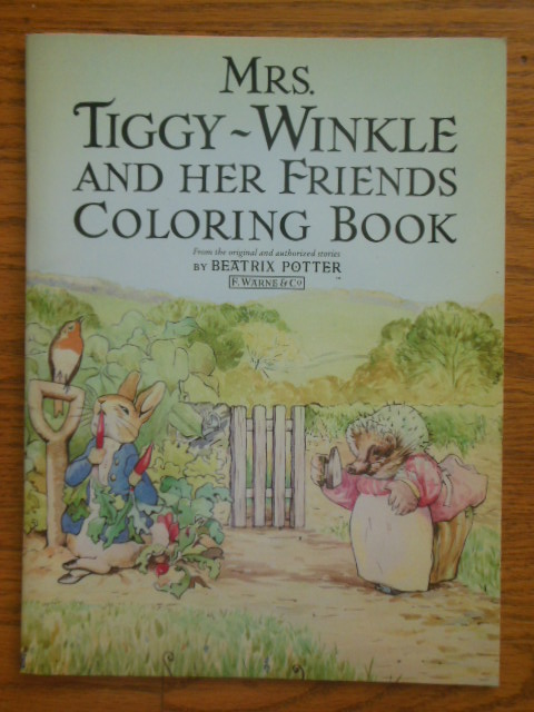 Image for Mrs. Tiggy-Winkle and Her Friends Coloring Book 1985 (1st ed.)