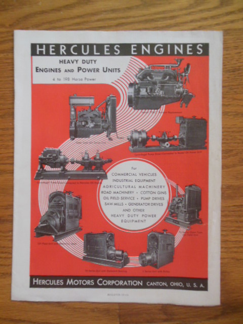Image for Hercules Engines, Hercules Motors Corporation Bulletin SP-136
