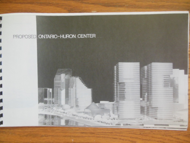 Image for Ontario-Huron Center Cleveland, Ohio (downtown plan, 1986)