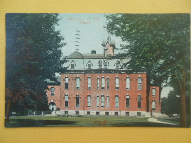 Image for Postcard Wellington, Ohio High School 1909