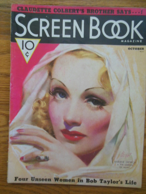 Image for Screen Book Magazine October, 1936